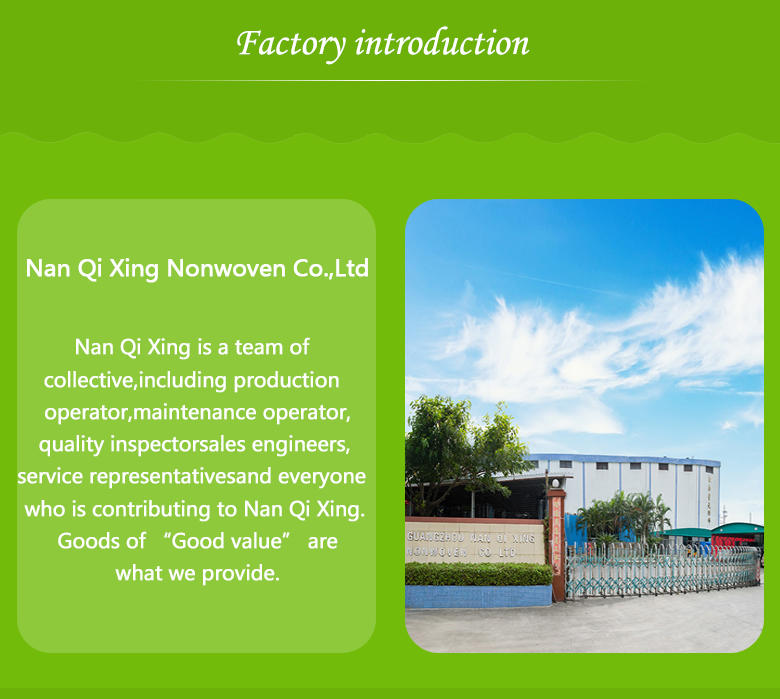 Nanqixing eco-friendly fabric to prevent weeds factory direct supply for crops bags