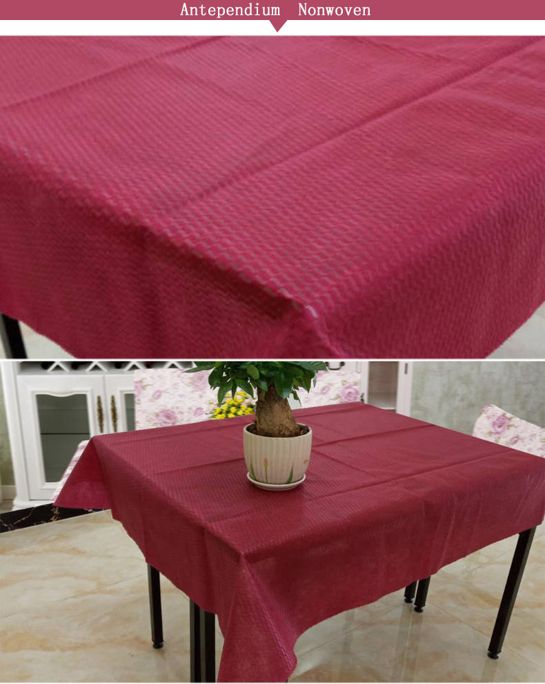 Wholesale nonwoven non woven tablecloth Nanqixing Brand