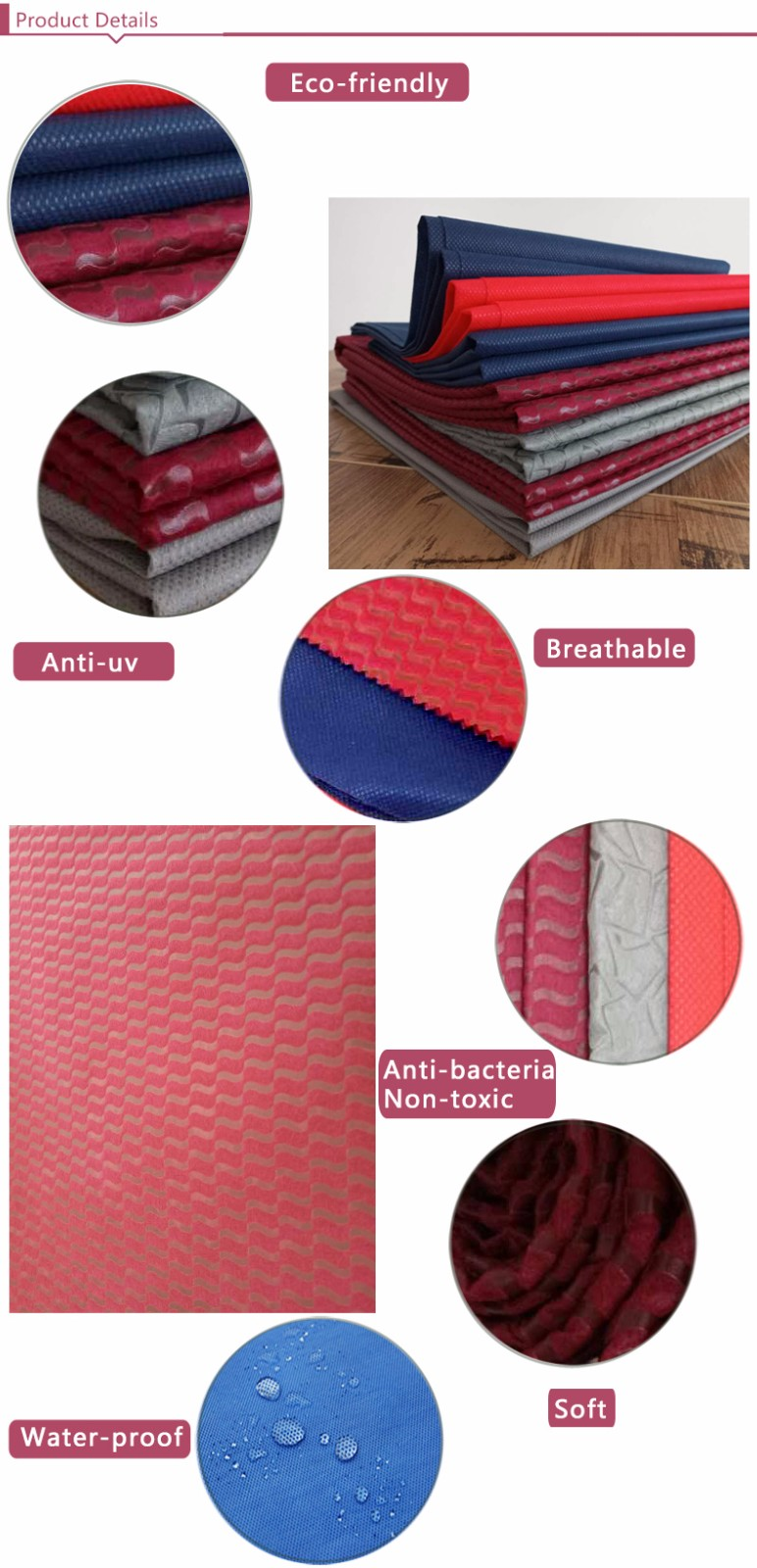 Nanqixing soft non woven filter cloth factory direct supply for wedding-2
