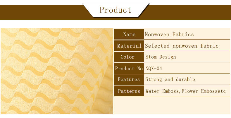 customized nonwoven designs Nanqixing Non Woven Material Wholesale