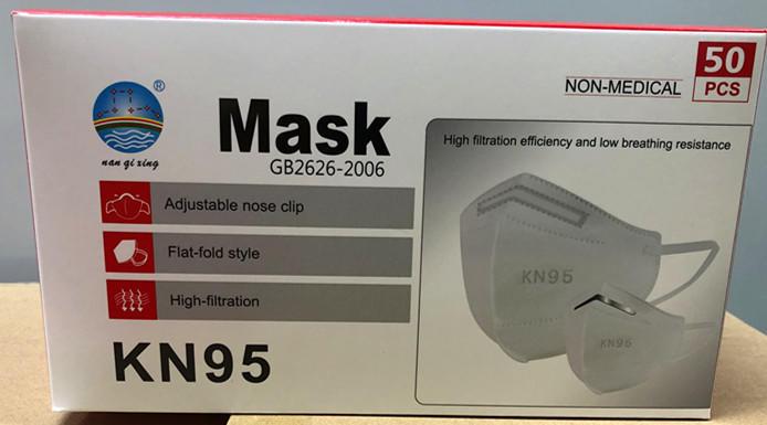 KN95 Masks  Model  NQX-2001