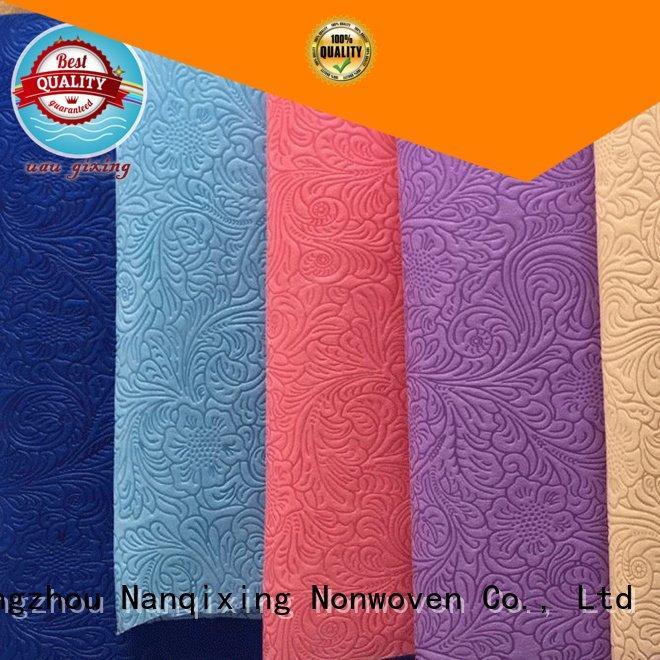 Quality Non Woven Material Wholesale Nanqixing Brand woven Non Woven Material Suppliers