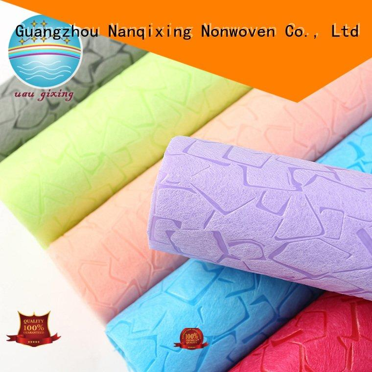 Custom Non Woven Material Suppliers nonwoven calendered pp Nanqixing