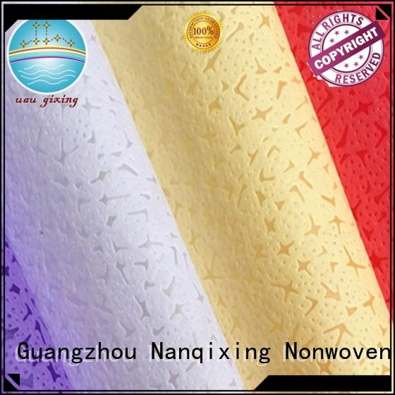 Custom various textile Non Woven Material Suppliers Nanqixing applications
