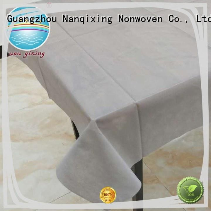 Nanqixing recyclable non woven cloth flower pattern for parties