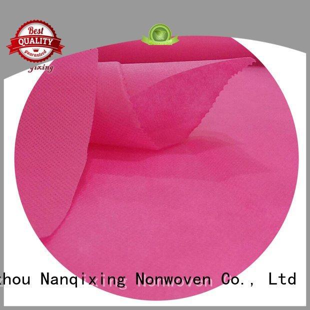 Nanqixing laminated non woven fabric manufacturer good adhesive fabrics