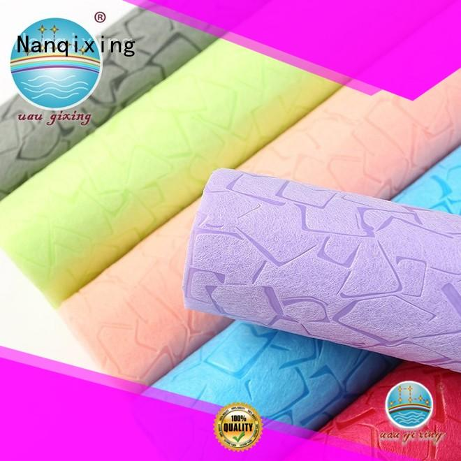 pp Needle Punch Nonwoven Fabric Manufacturers factory direct supply for bedding Nanqixing
