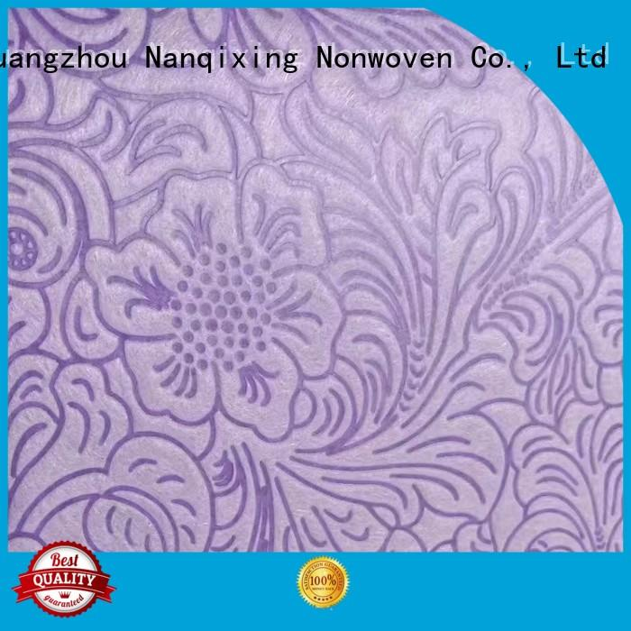 smsssmms calendered various price Nanqixing Brand Non Woven Material Suppliers supplier