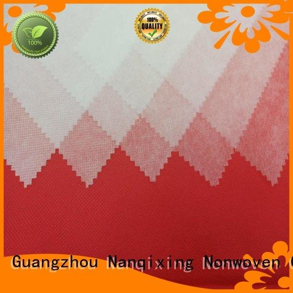 Nanqixing tensile pp spunbond nonwoven fabric supplier spunbond