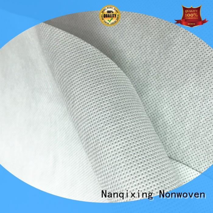 Nanqixing spunbond non woven polypropylene fabric factory direct supply for blankets