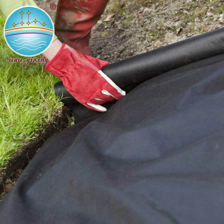 Nanqixing Black Nonwoven Fabric for Weed Control Mat with Anti-UV treated Nonwoven For Agriculture image22
