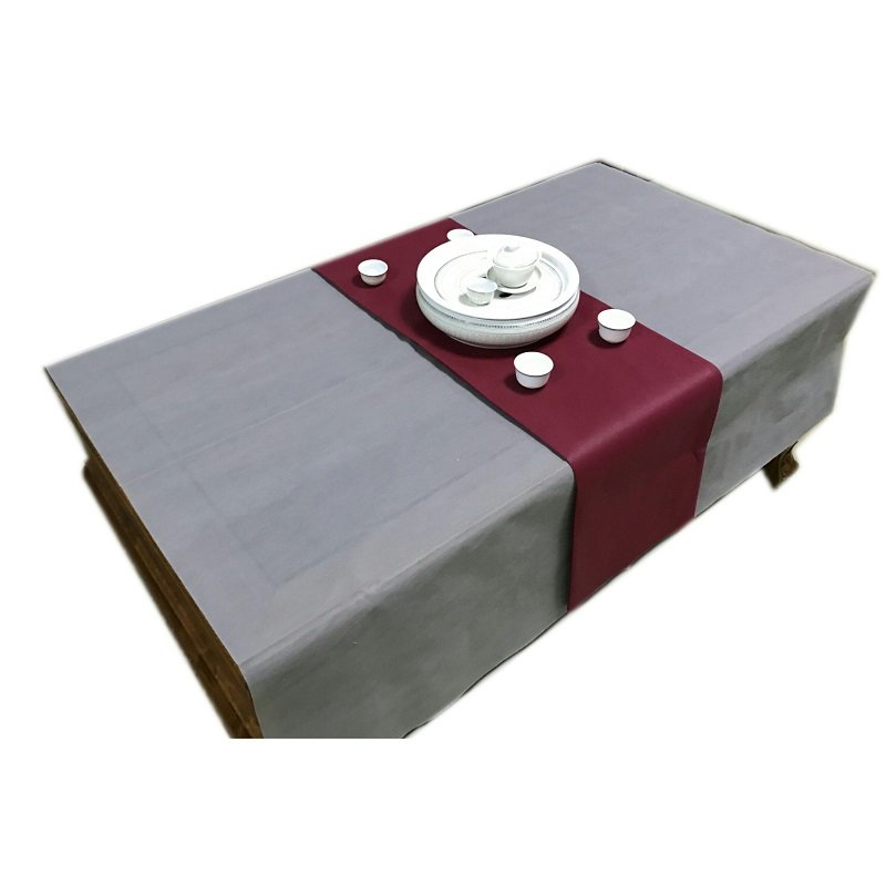 Nanqixing Disposable PP Spunbond Table Cloth With Different Colours Nonwoven Table Cloth image19