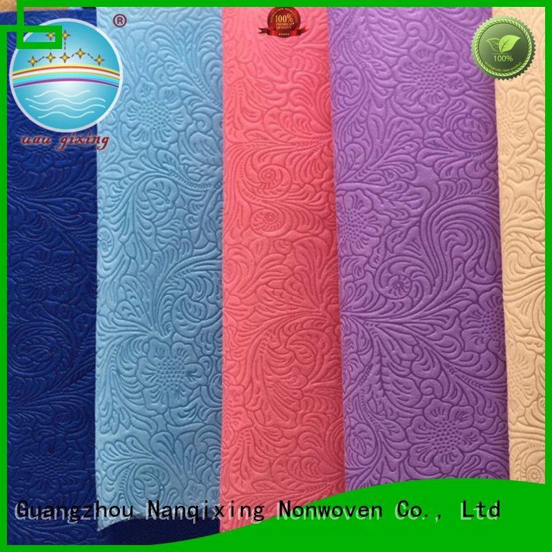 Nanqixing Non Woven Material Suppliers nonwoven good virgin applications