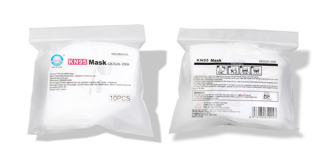 KN95 Masks  Model KN-1