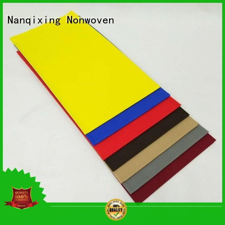 Nanqixing biodegradable non woven cloth suppliers directly sale for restaurants
