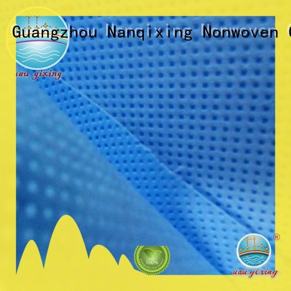 Nanqixing designs Spunbond Non Woven Fabric Manufacturer factory direct supply for furniture