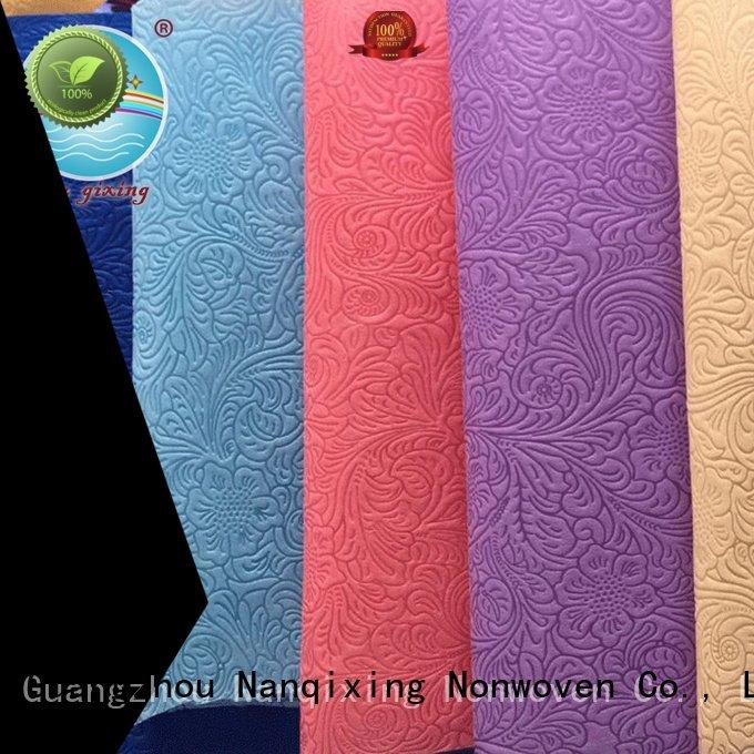 Non Woven Material Wholesale good fabric usage different Nanqixing
