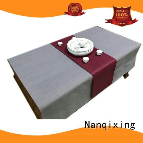 spunbond non woven fabric roll price disposable for restaurants Nanqixing