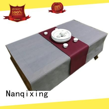 Nanqixing pp non woven tablecloth directly sale for parties