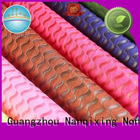 for various designs Nanqixing Brand Non Woven Material Wholesale factory