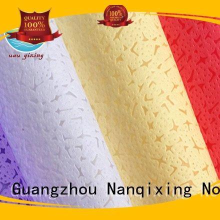 Wholesale nonwoven ecofriendly Non Woven Material Suppliers Nanqixing Brand