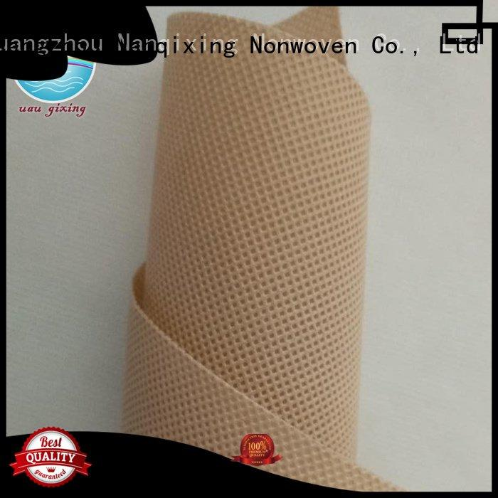 Hot Non Woven Material Wholesale price soft calendered Nanqixing Brand