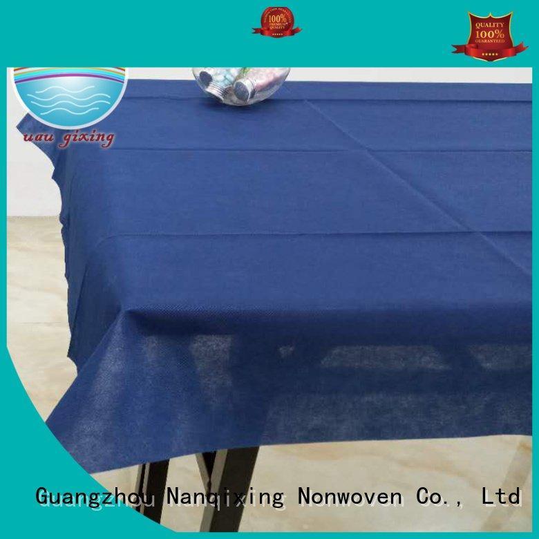 sizes designs Nanqixing non woven tablecloth