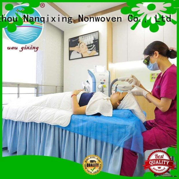 Nanqixing non woven medical products flat gowns customized hygenie