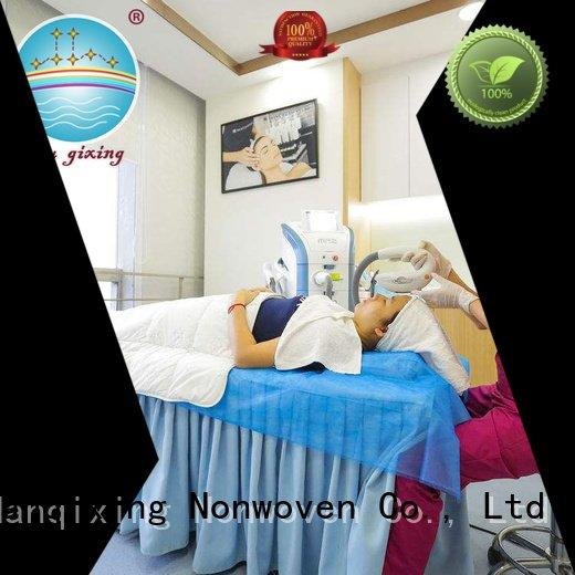 Nanqixing gowns flat factory medical nonwovens plain