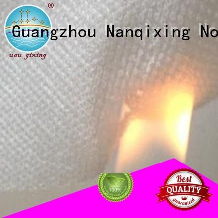 Custom spunbonded pp spunbond nonwoven fabric upholstery Nanqixing