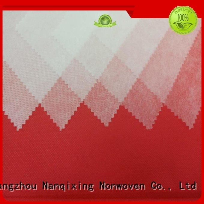 non woven fabric products upholstery Nanqixing Brand pp spunbond nonwoven fabric