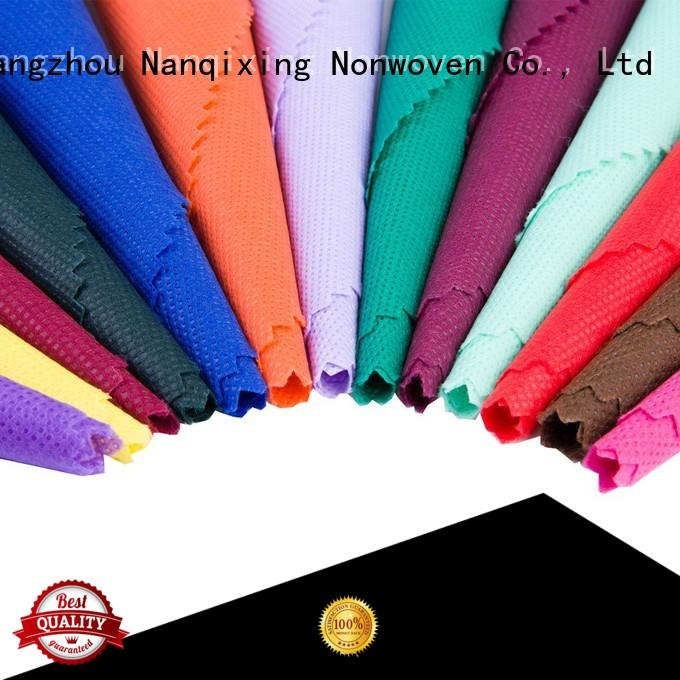 Nanqixing Brand applications usages ecofriendly custom Non Woven Material Wholesale