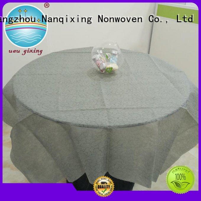 restaurants sizes hotels Nanqixing non woven tablecloth
