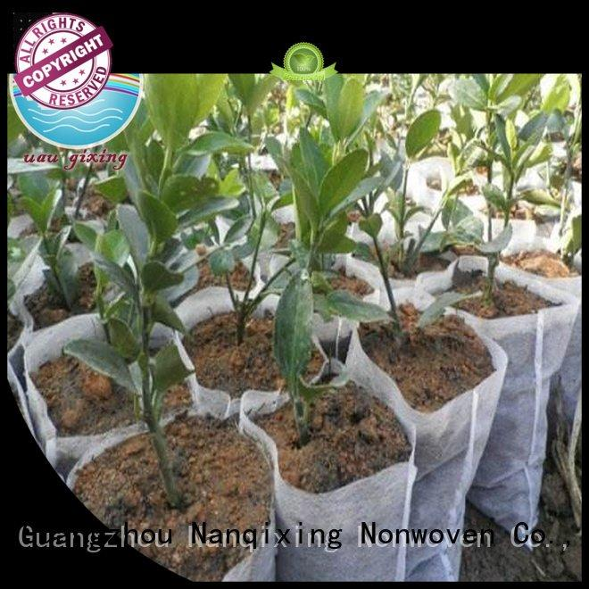 Nanqixing Brand nonwoven greenhouse best price weed control fabric vegetables cover