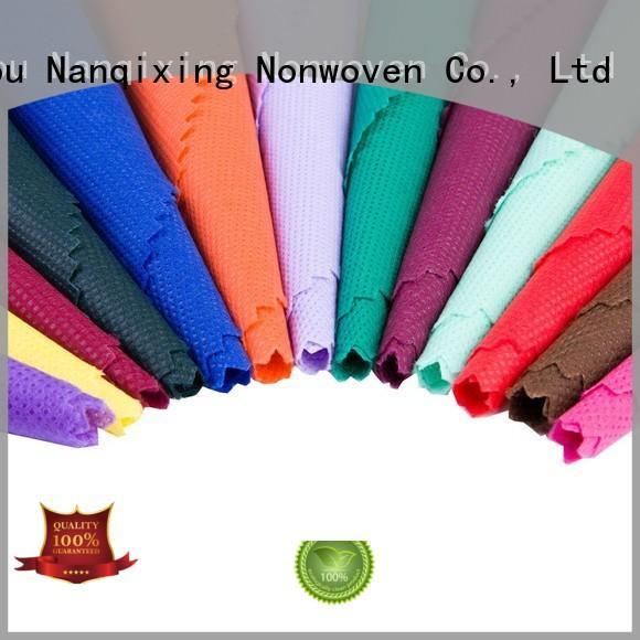 Nanqixing eco-friendly Spunlace Non Woven Fabric Manufacturers customized for packaging