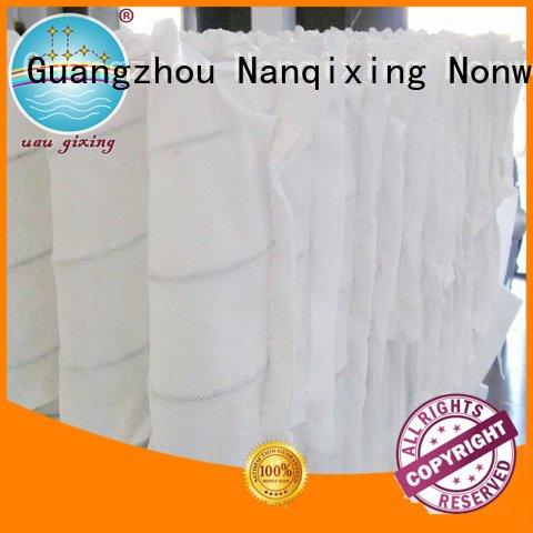 Custom pp spunbond nonwoven fabric box storage upholstery Nanqixing