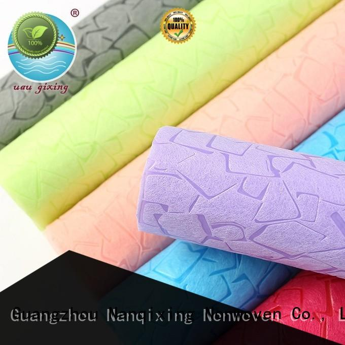 Nanqixing soft Non Woven Polypropylene Fabric Manufacturers factory direct supply for furniture