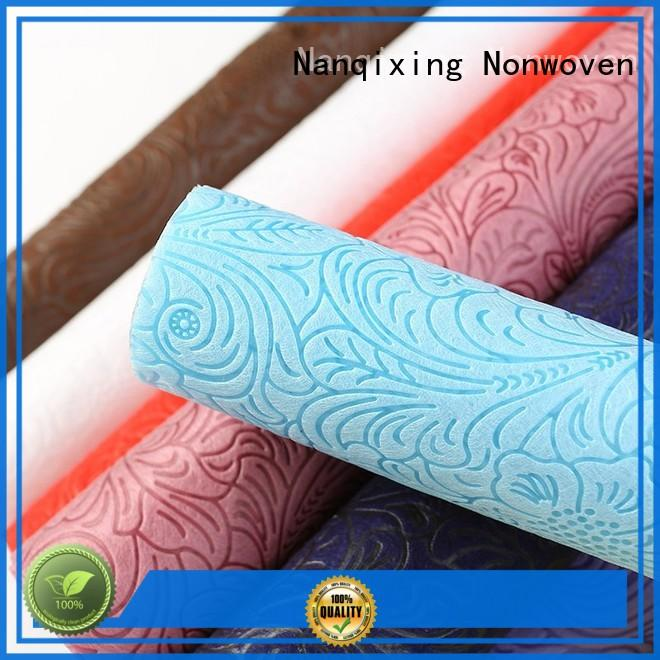 Nanqixing high quality non woven fabric roll wholesale spplier factory direct supply for shopping bag
