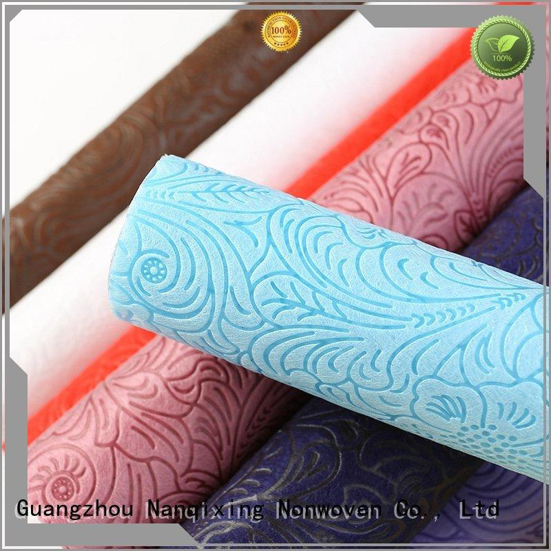 Nanqixing Brand ecofriendly various Non Woven Material Suppliers manufacture