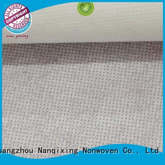 Nanqixing Brand nonwoven various 100 Non Woven Material Wholesale