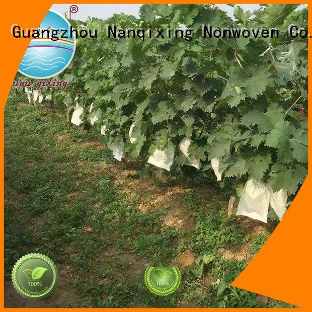 Nanqixing Brand agriculture best price weed control fabric bags fabric