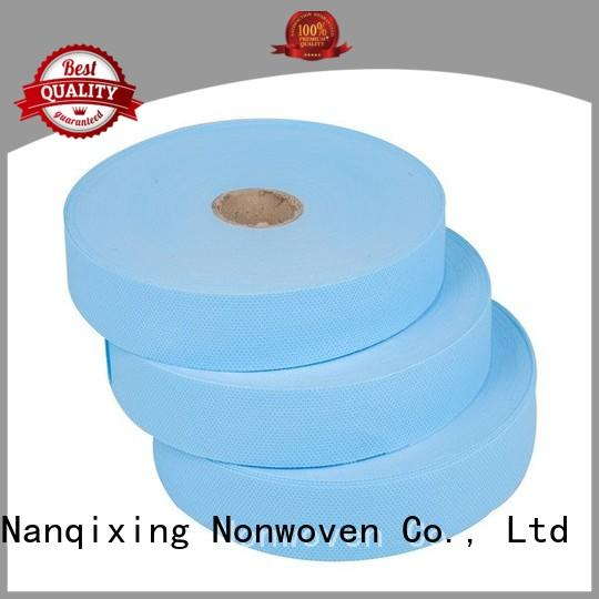 good fabric ecofriendly Nanqixing Brand laminated non woven fabric manufacturer manufacture