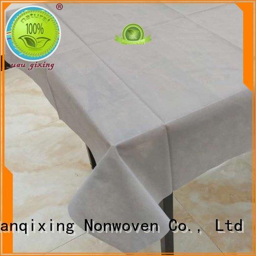 Nanqixing Brand spunbond colours non woven fabric for sale
