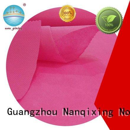 Nanqixing Brand non bags laminated non woven fabric manufacturer good making