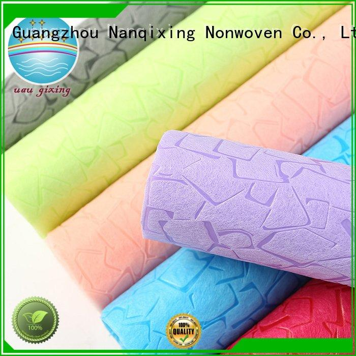 nonwoven tensile hygiene direct Nanqixing Non Woven Material Wholesale