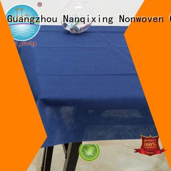 Nanqixing patterns table non woven tablecloth sizes hotels
