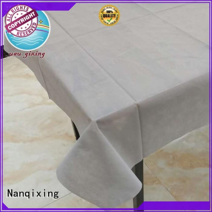 Nanqixing pp non woven cloth wrap factory direct supply for banquets