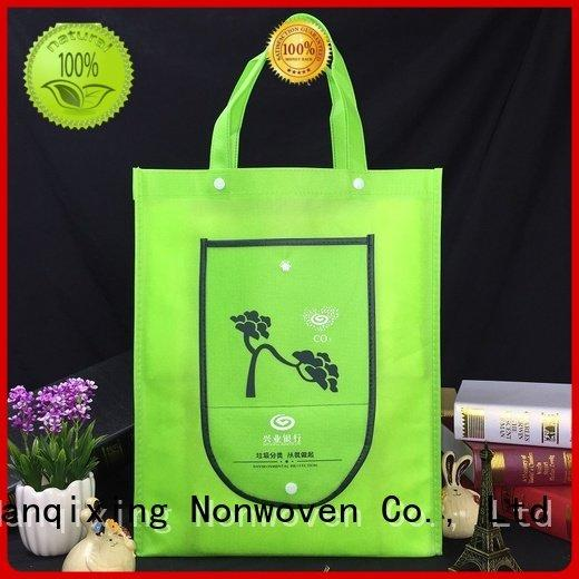 Wholesale shopping nonwoven non woven fabric bags Nanqixing Brand