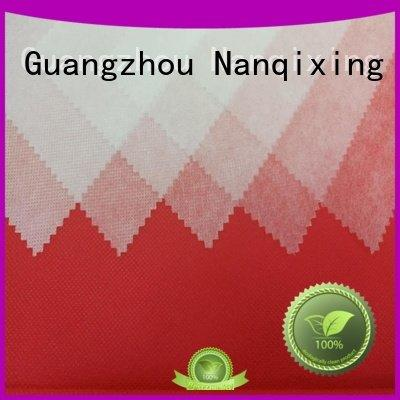 non woven fabric products box high pp spunbond nonwoven fabric Nanqixing Warranty