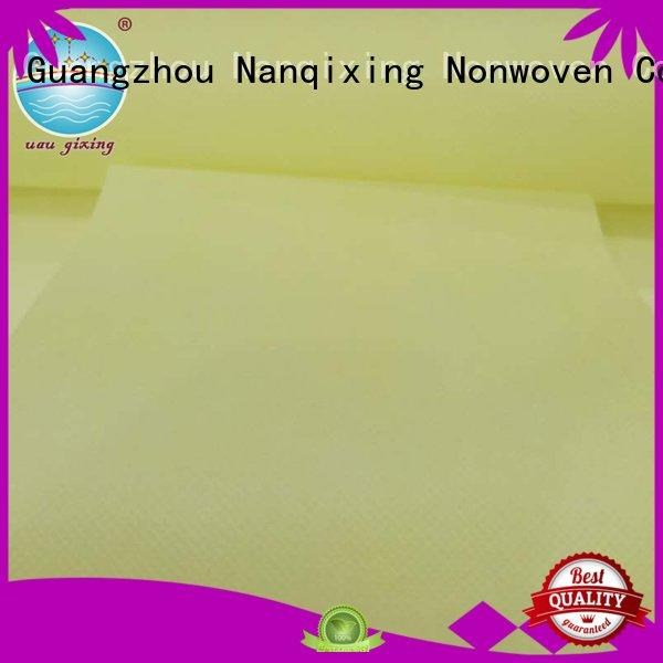 Hot Non Woven Material Wholesale price spunbond calendered Nanqixing Brand